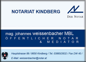 Notariat Weißenbacher Kindberg (2)