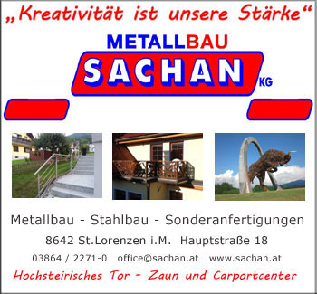 Sachan Metallbau St.Barbara